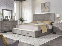 Liberty Furniture Modern Farmhouse Storage Bedroom Set In Dusty Charcoal Est Ship Time Is 4 Weeks inside Luxury Bedroom Set Modern