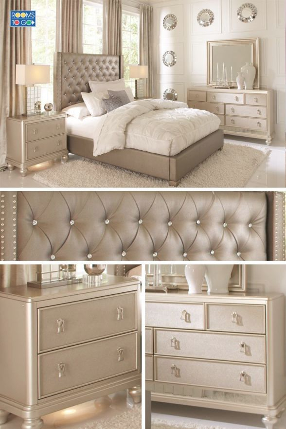 Likable Gold Bedroom Set Decor Queen Gray Furniture pertaining to Bedroom Set Ideas