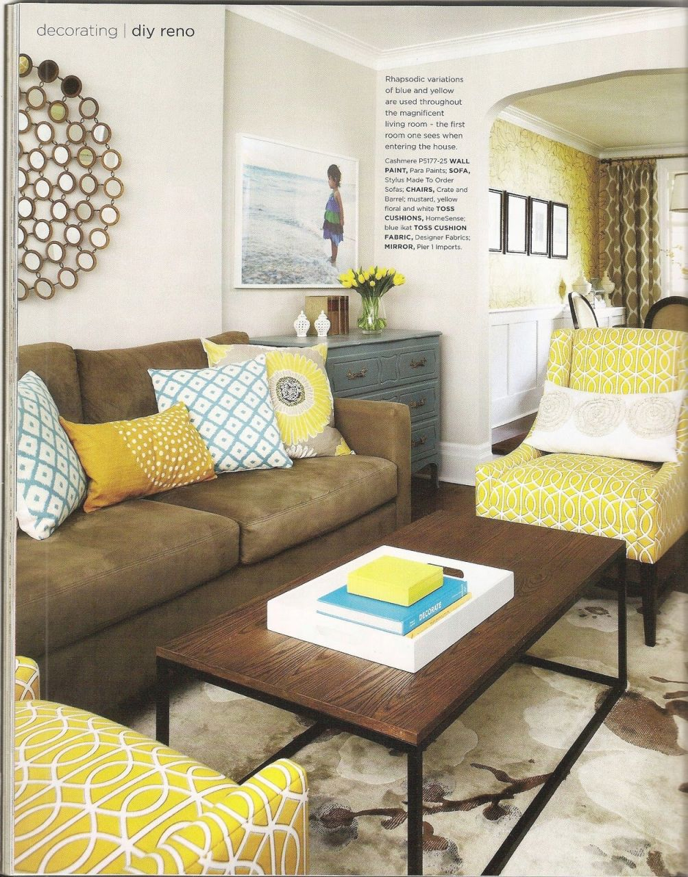New Yellow Living Room Furniture Awesome Decors