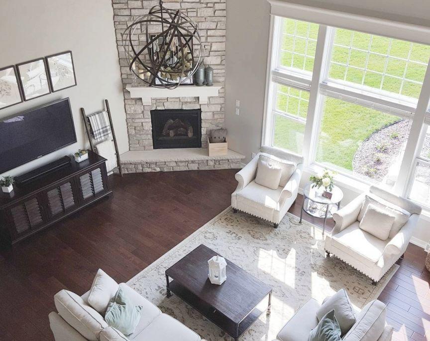 Living Room Furniture Arrangement Ideas Corner Fireplace ...