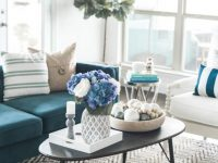 Living Room Ideas: Coastal Living Room Reveal Source List To intended for Beach Living Room Furniture