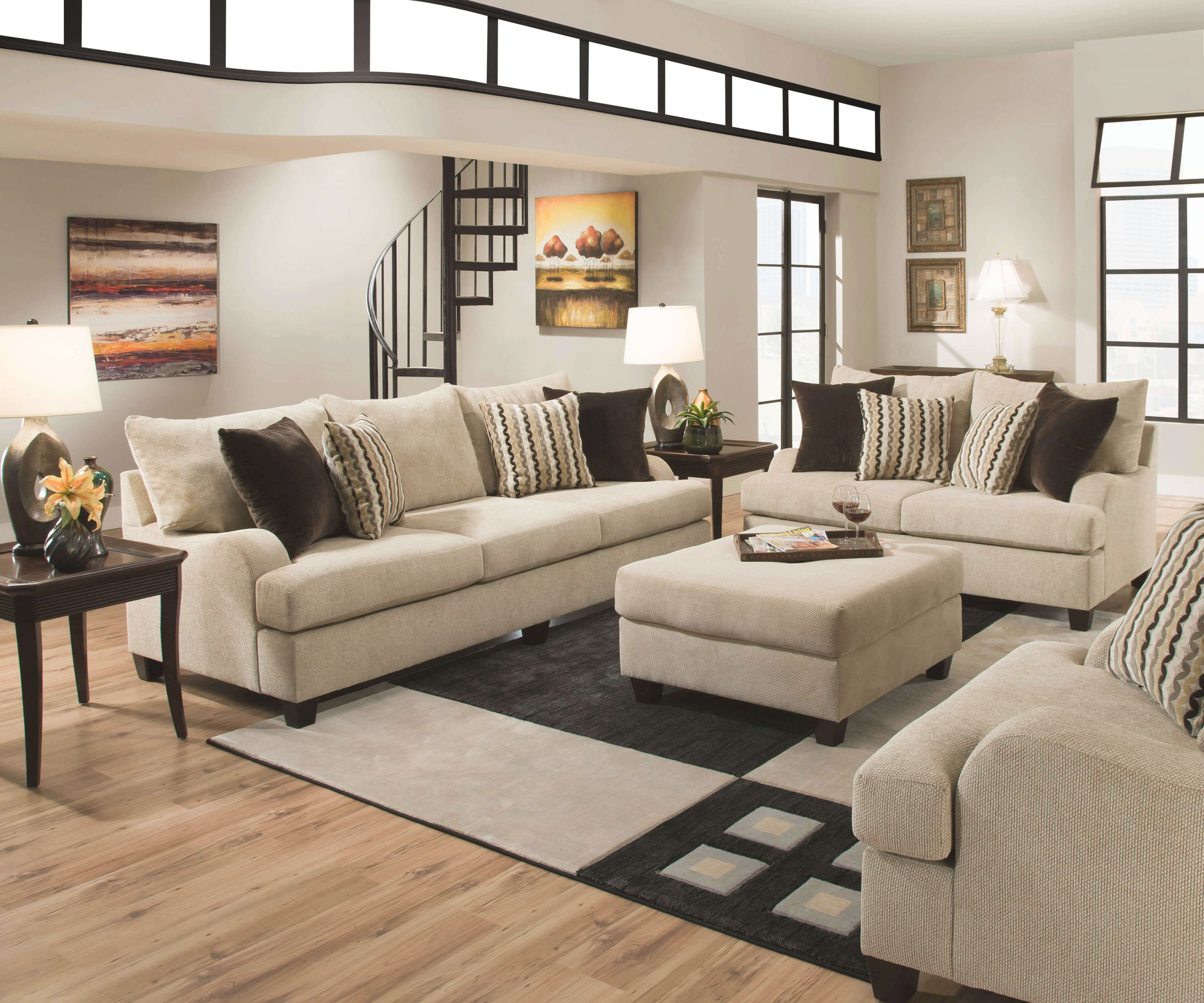 Fresh Living Room Furniture Layout - Awesome Decors