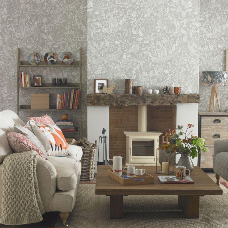 Living Room Wallpaper – Wallpaper For Living Room – Grey with Living Room Wallpaper Ideas
