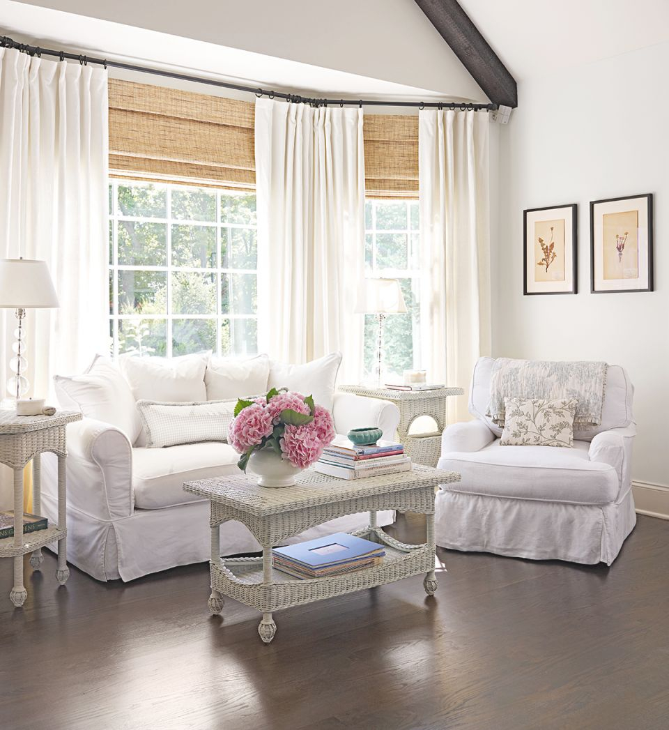 Living Room Window Treatments with regard to Window Treatment Ideas For Living Room