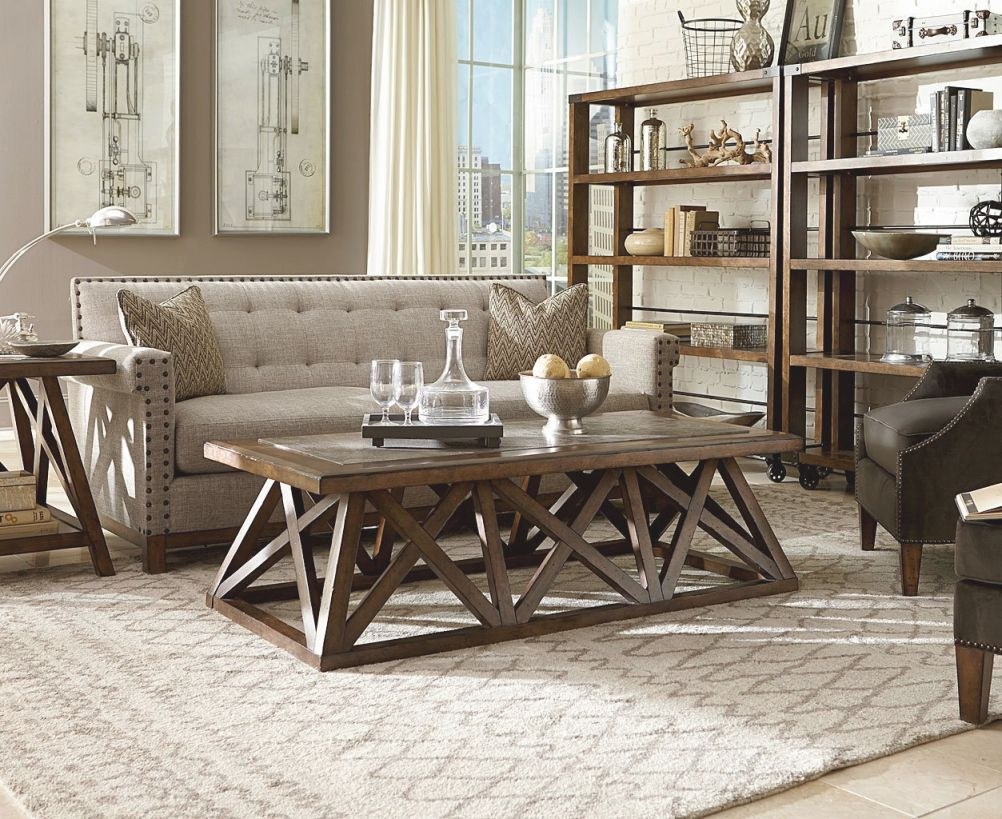 Logan Tufted Living Room Set with Tufted Living Room Furniture