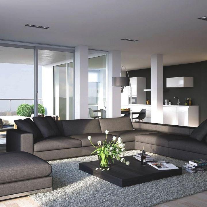"""Luxury Modern Living Room — Kebreet Room From """"ideas Modern with regard to Modern Living Room Furniture"""