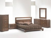 Madrid Platform Bed Bedroom Set Brown King Bedroom Set within Bedroom Set Ideas