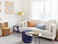 Makeover Takeover: Jess' Long Awaited (Small Space) Living inside Small Space Living Room Furniture