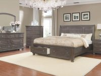 Mapes Queen Sleigh 4 Piece Bedroom Set with regard to Bedroom Set Queen