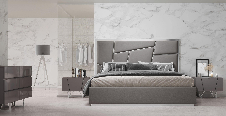 Marisol Modern 4 Piece Bedroom Set regarding Luxury Bedroom Set Modern