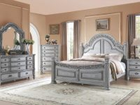 Me01 191 – 8 Pcs Queen Size Bed Set with regard to Bedroom Set Queen Size