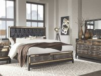 Mirror Choc Queen Set Queen Size B,2Ns,dr,mr inside Bedroom Set Queen Size
