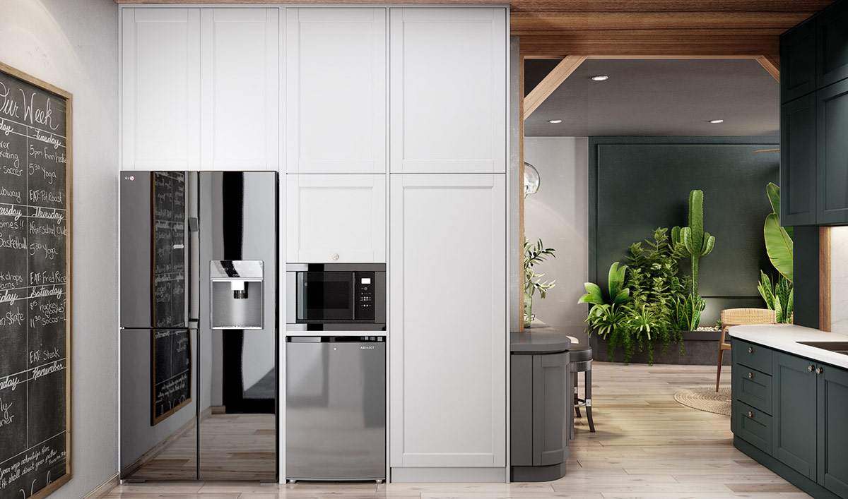 mirrored-fridge