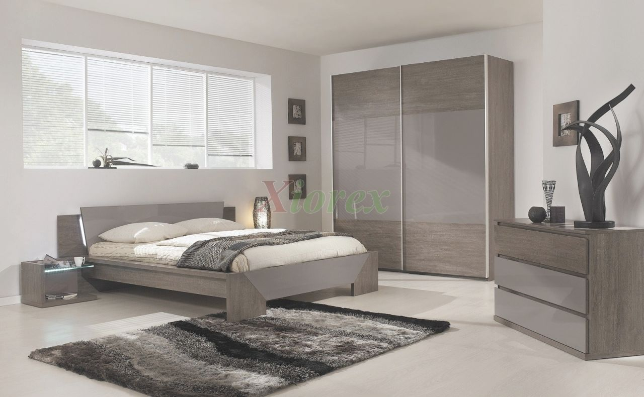 Modern Bed Gami Trapeze Bed Set Modern Bedroom Set pertaining to Luxury Bedroom Set Modern