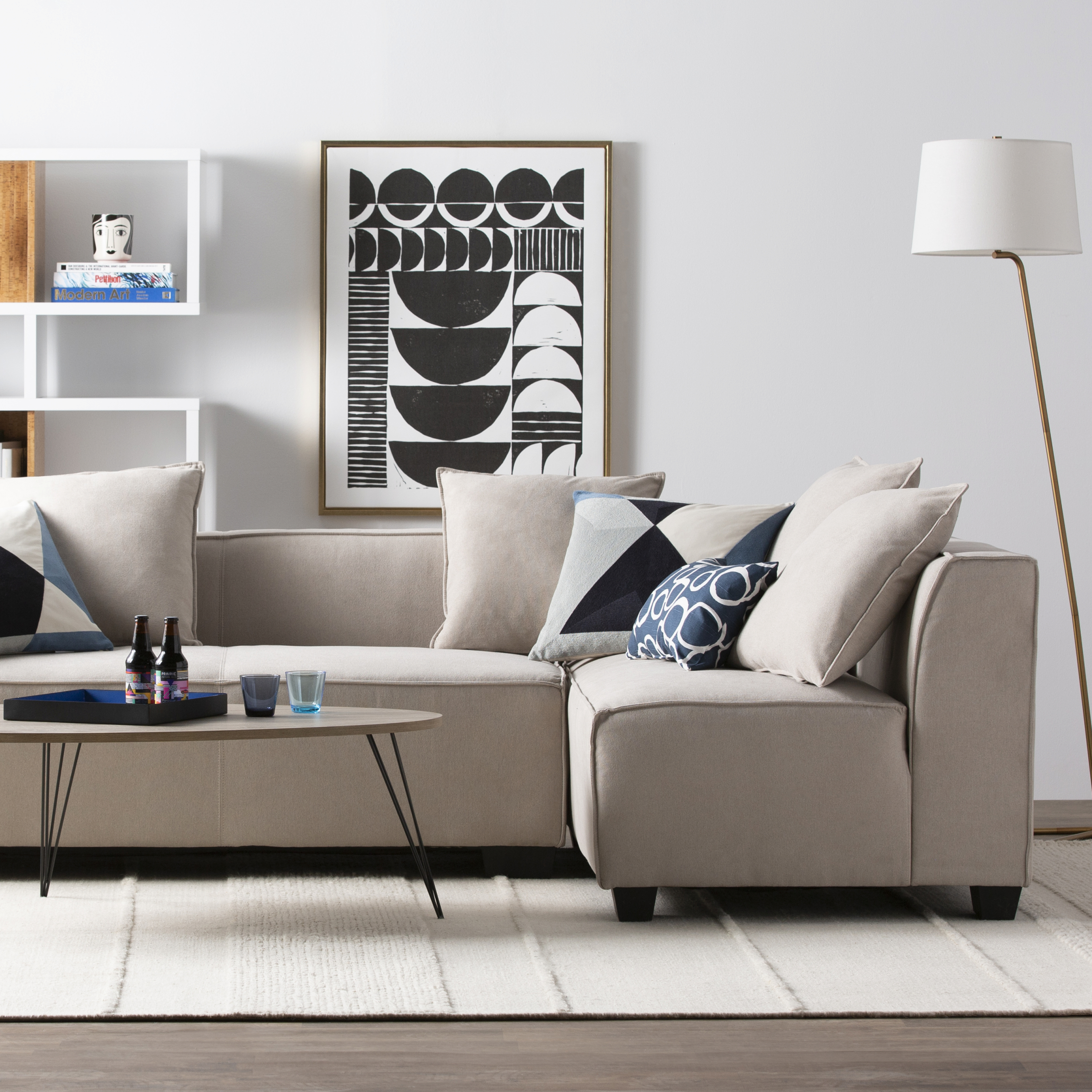 Modern & Contemporary Living Room Furniture | Allmodern throughout Awesome Modern Living Room Furniture