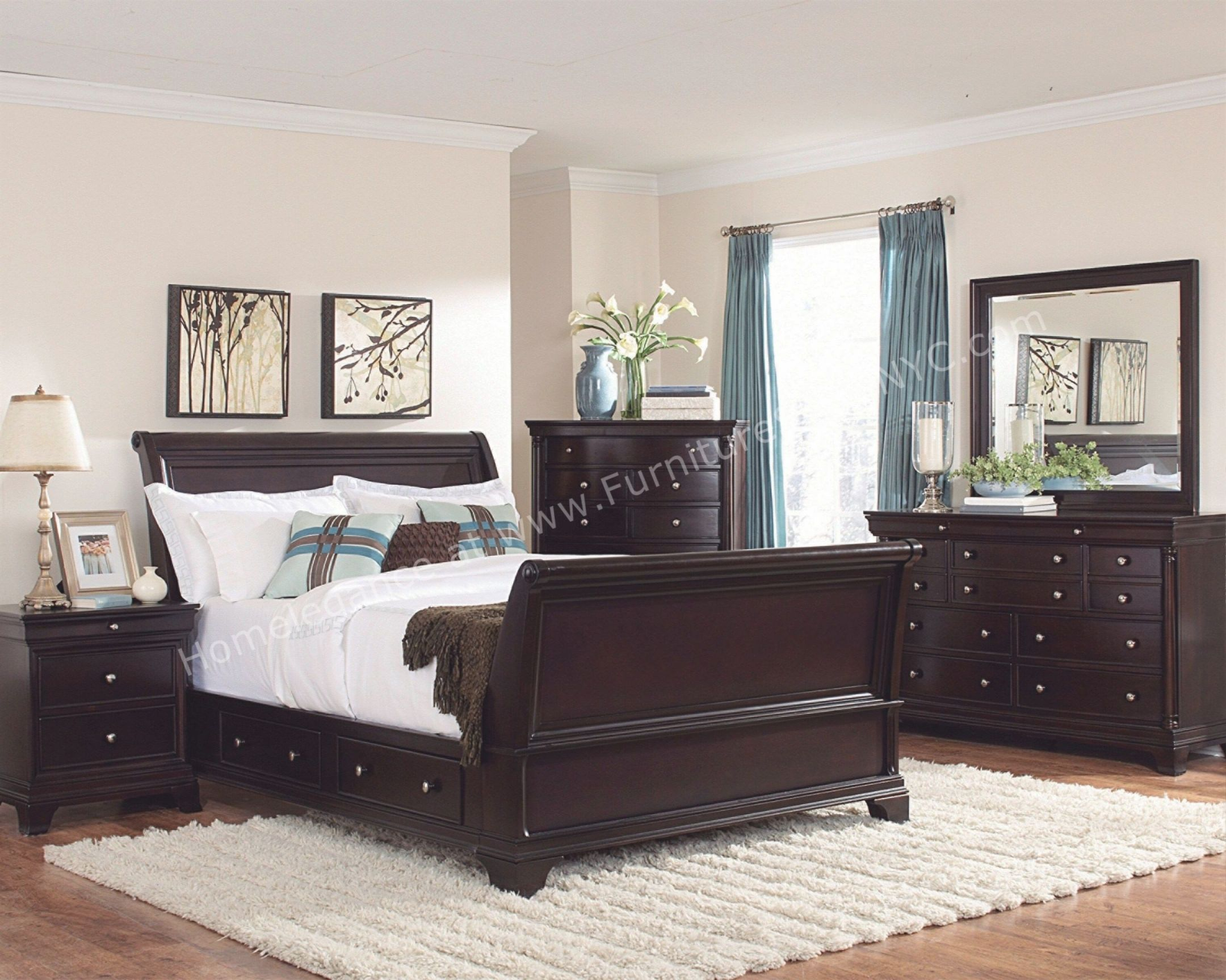 Modern Dark Wood Bedroom Furniture Cileather Home Design Ideas For Bedroom Set Dark Wood Awesome Decors