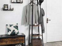 modern-industrial-ladder-shelf-with-hooks-for-entryway-mudroom-coatrack-storage