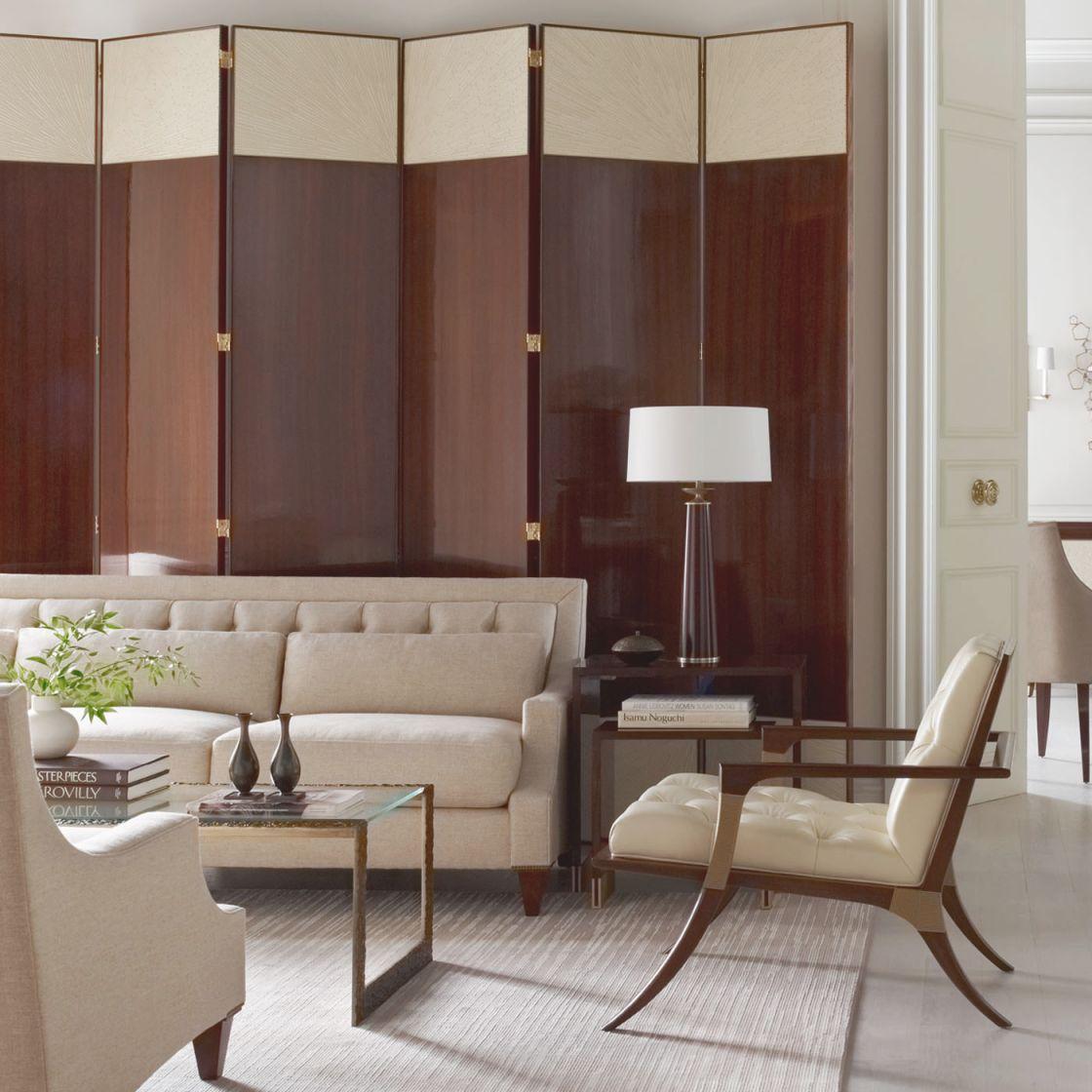 Modern Living Room Furniture & Accessories   Baker Furniture intended for Living Room Furniture Tables