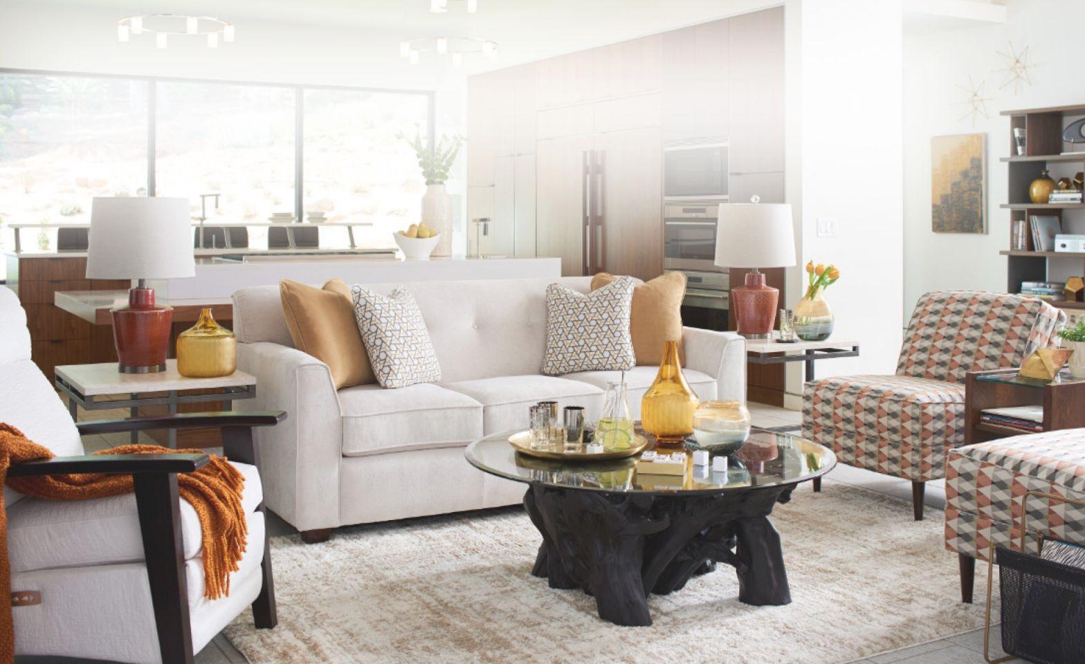 Modern Retreat   La-Z-Boy intended for New Lazy Boy Living Room Furniture