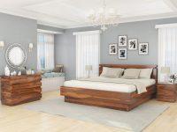 Modern Simplicity 4 Piece Bedroom Set within Bedroom Set Modern