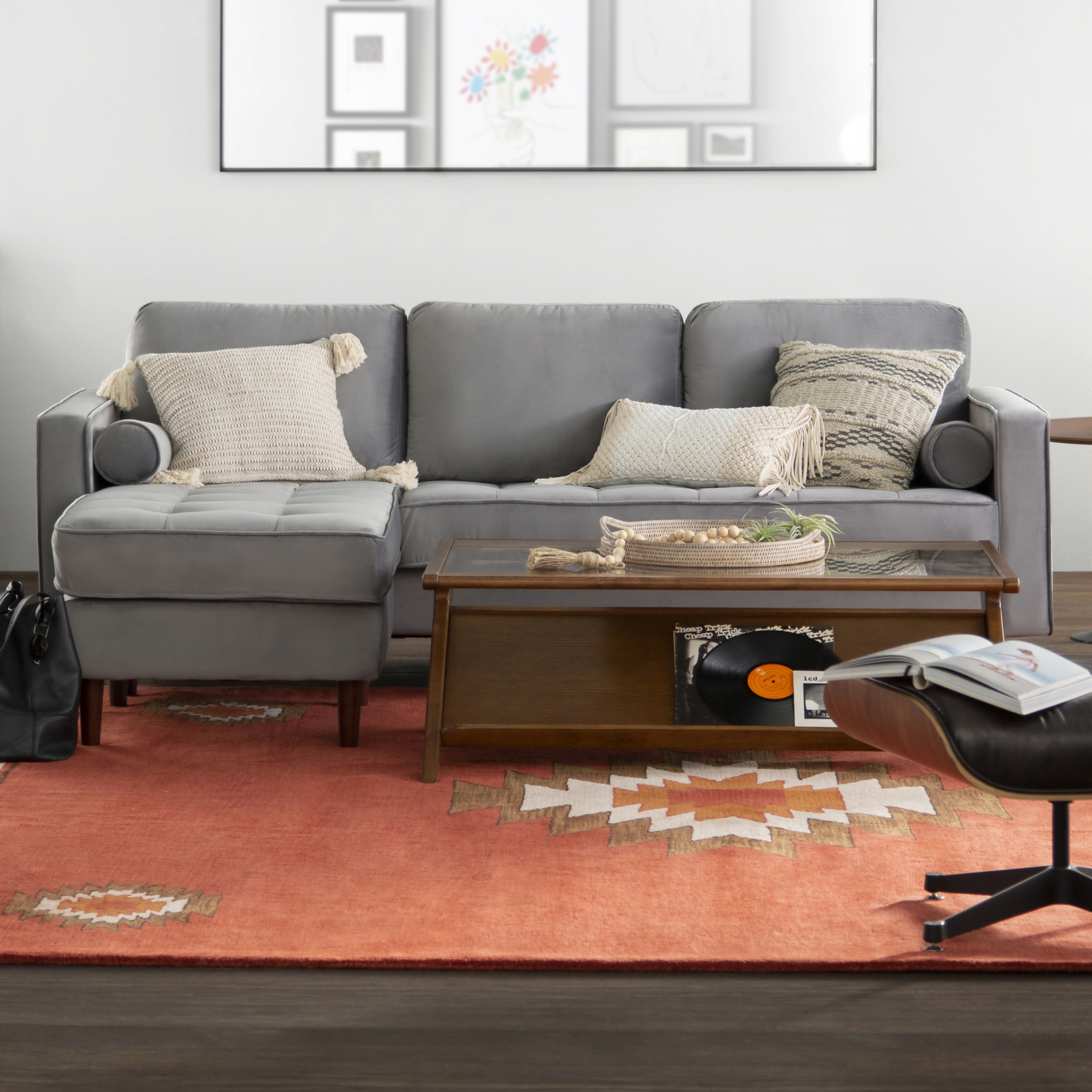 Modern Small Space Furniture | Allmodern pertaining to Awesome Small Space Living Room Furniture