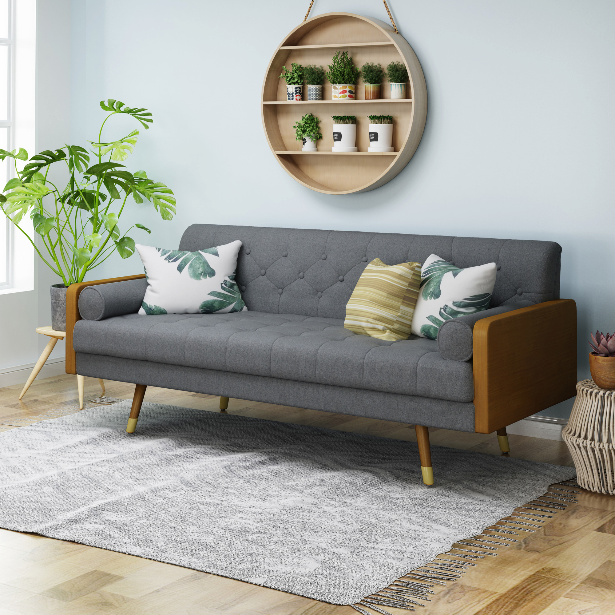 Modern Small Space Furniture | Allmodern with regard to Small Space Living Room Furniture