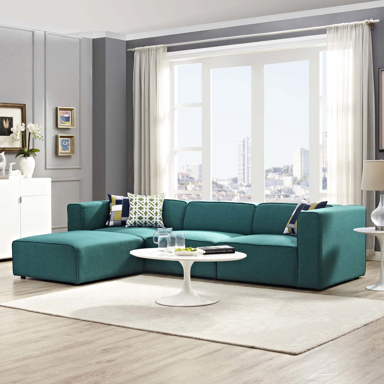Modern Sofas + Sectionals | Allmodern with Awesome Modern Living Room Furniture