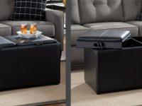 Multifunctional Furniture For Space Saving, Storage & Tech with Elegant Space Saving Living Room Furniture
