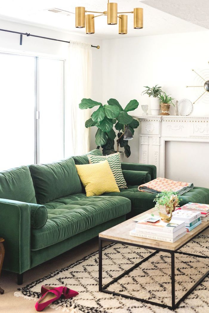 My New Green Sofa | Homes & Spaces | Living Room Green with Beautiful Green Living Room Furniture