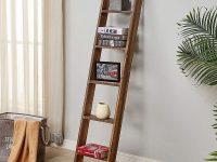 narrow-ladder-shelf-for-modern-rustic-industrial-interior-design