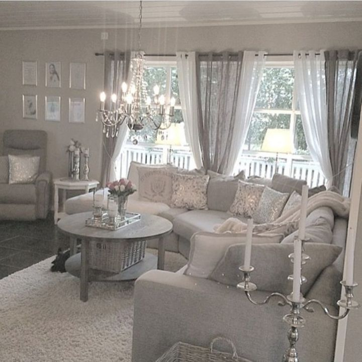 Nice Window Treatment Ideas For Living Room : Large Window throughout Beautiful Window Treatment Ideas For Living Room