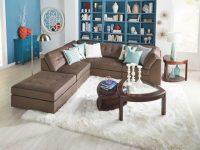 Options 4 Piece Sectional inside Badcock Furniture Living Room Sets
