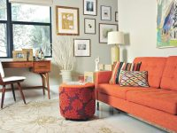 Orange Couch Orange Room Ideas Old Orange Couch For regarding Luxury Blue Couch Living Room Ideas