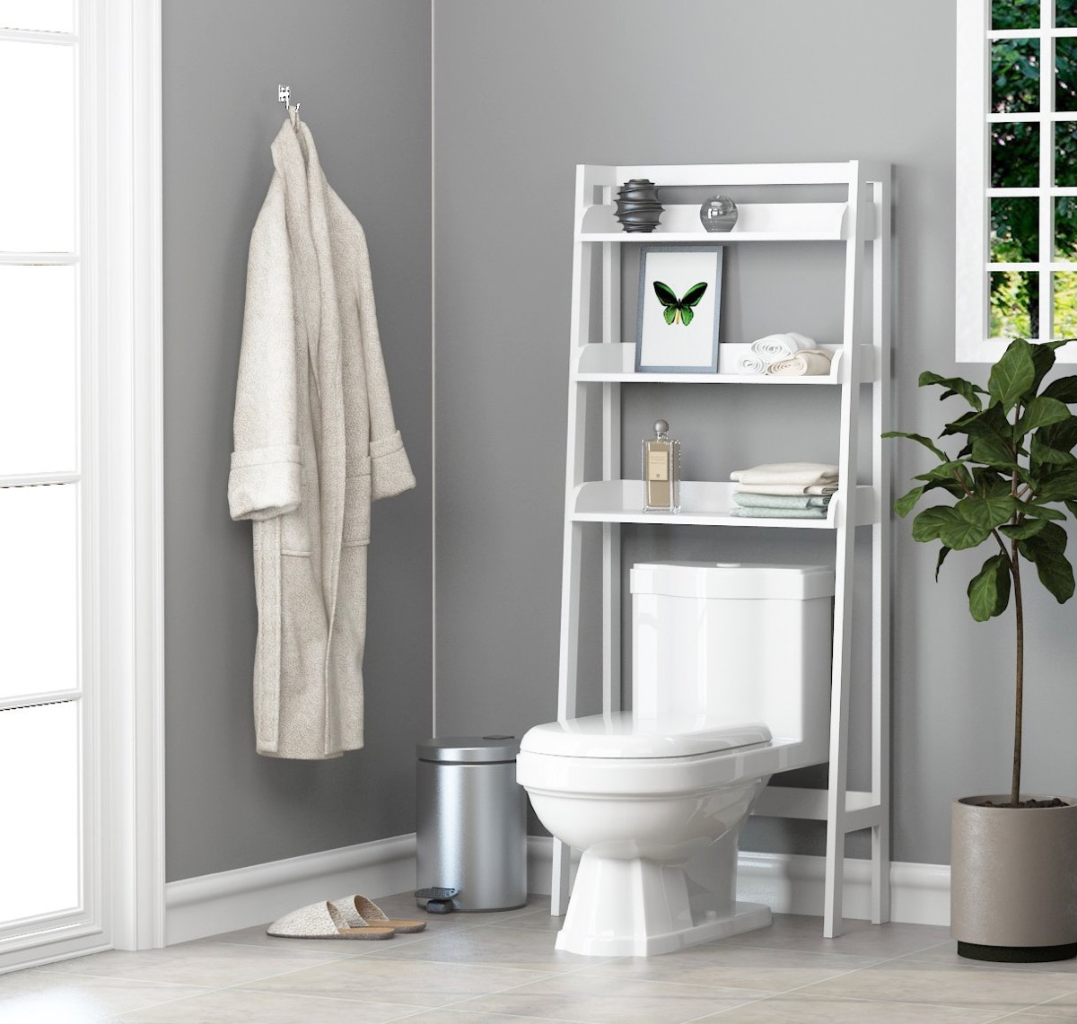over-the-toilet-ladder-shelf-white-finish-modern-design