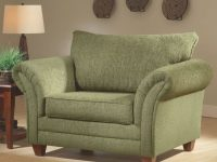 Overstuffed Green Chairso Comfy! | Visions Of Home within Elegant Overstuffed Living Room Furniture