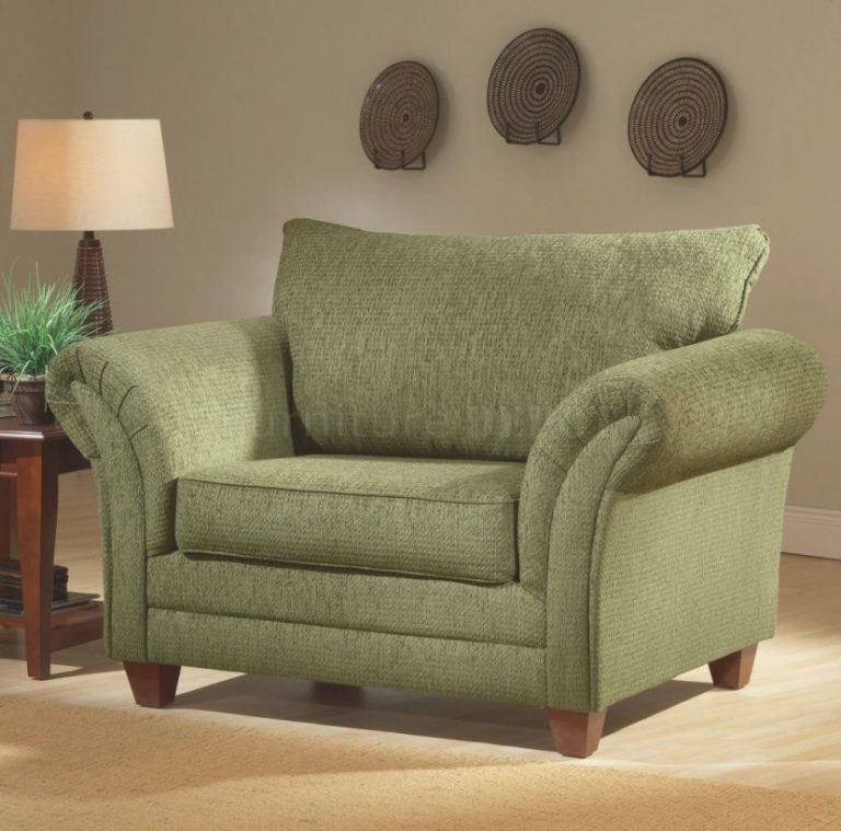 overstuffed green chairso comfy  visions of home within