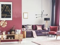 Paint Color To Coordinate With Red And Black Furniture within Fresh Black Furniture Living Room