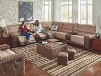Pasadena 6 Piece Sectional throughout Badcock Furniture Living Room Sets