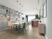 pastel-dining-room