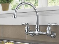 Peerless Faucets Double Handle Kitchen Faucet pertaining to Wall Mount Kitchen Faucet