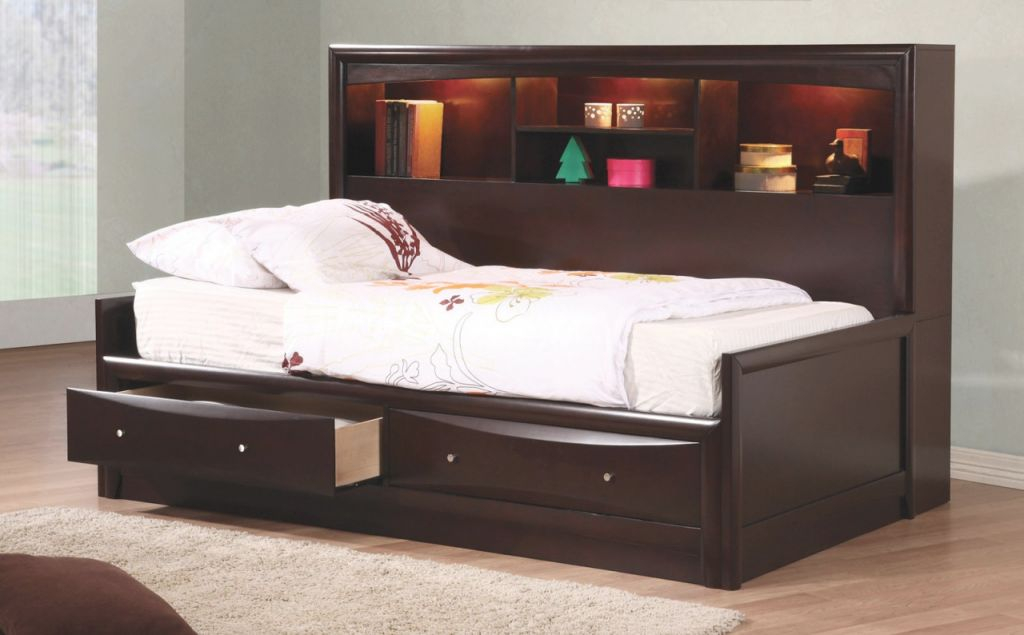 Phoenix Daybed Collection 400410 Bedroom Set for Awesome Full Size Bed With Trundle Bedroom Set