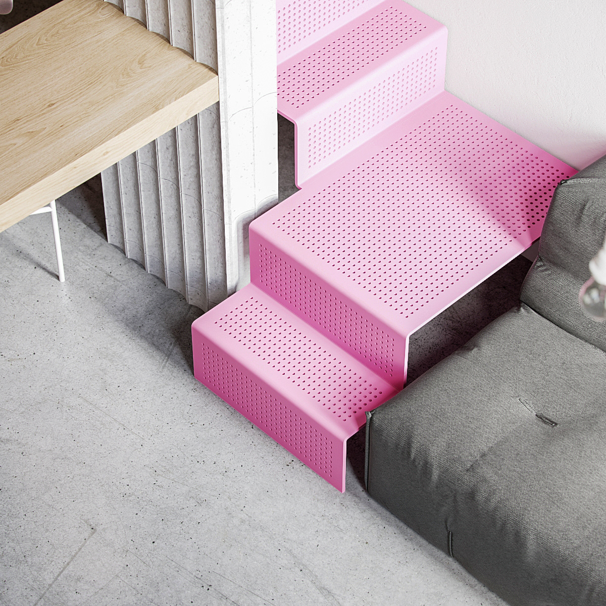 pink-staircase-design