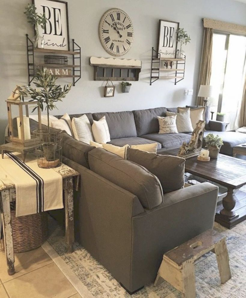 Pinthe Home Decor Guides On Vintage Home Decor In 2019 inside Farmhouse Living Room Furniture