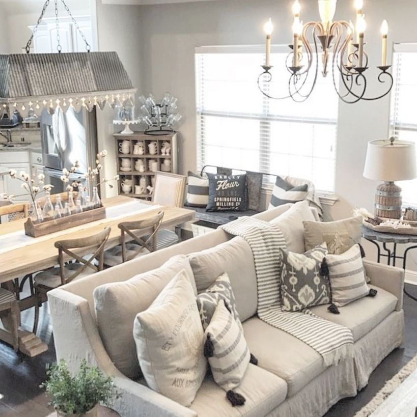 Modern Farmhouse In Country