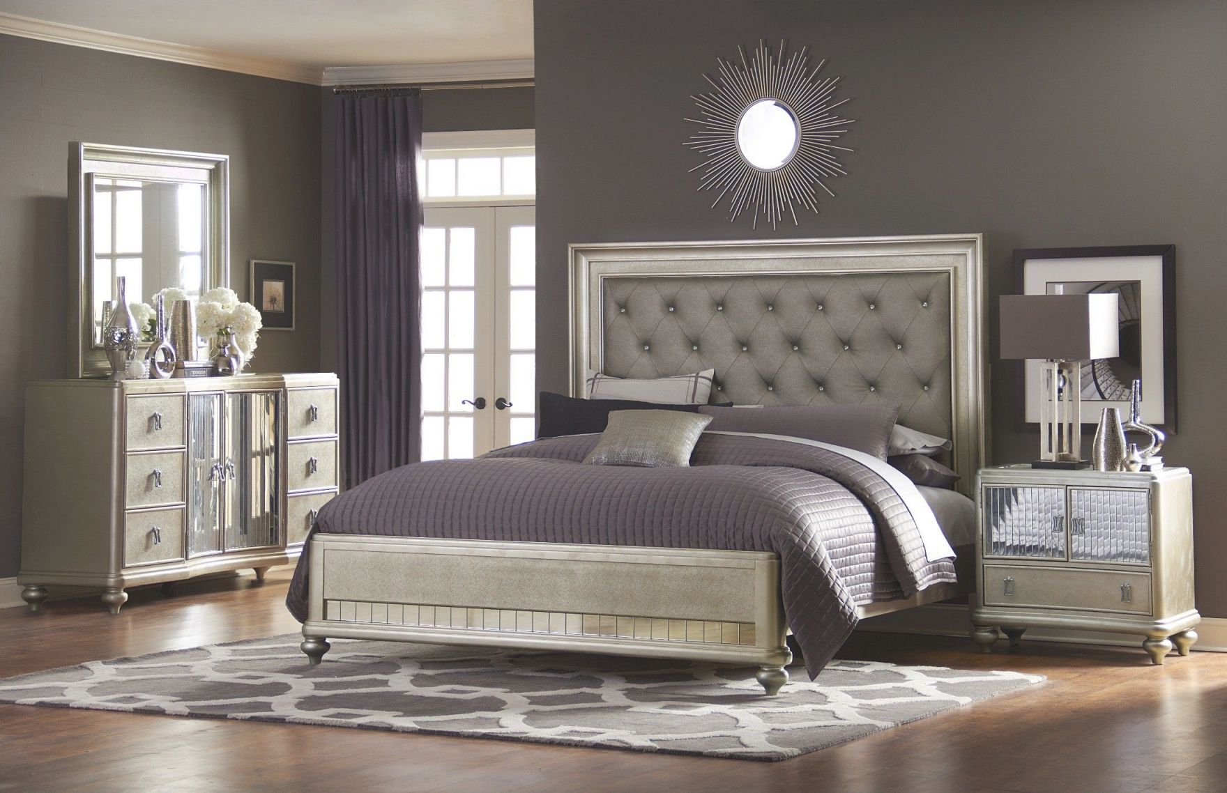 Platinum Platform Bedroom Set | Furniture Bedroom | Platform with Fresh Bedroom Set Ideas