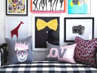 Pop Art Style – 36 Ideas with Inspirational Living Room Art Ideas