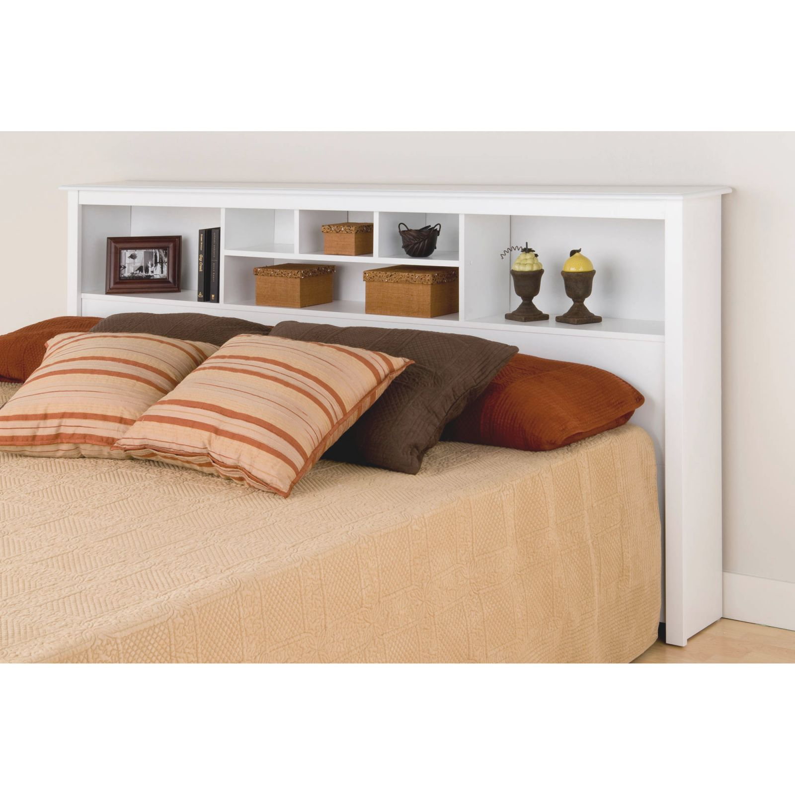 Prepac Manufacturing King Size Bookcase Headboard throughout Best of King Bed Frame With Headboard