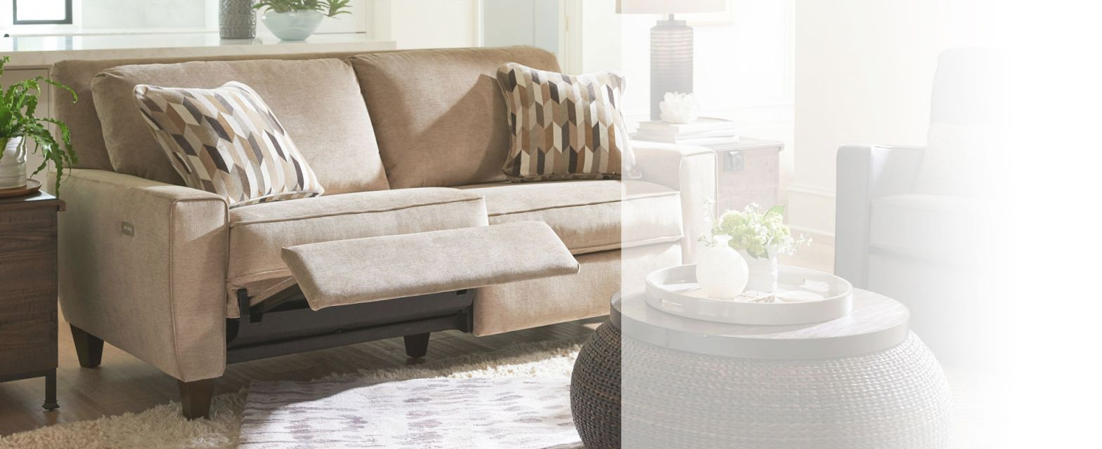 Reclining Sofas & Reclining Couches   La-Z-Boy within Lazy Boy Living Room Furniture