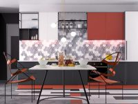 red-and-grey-dining-room