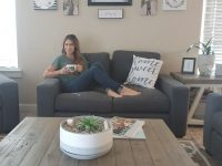 Remodled Home With Farmhouse Couches And Living Room intended for Target Living Room Furniture